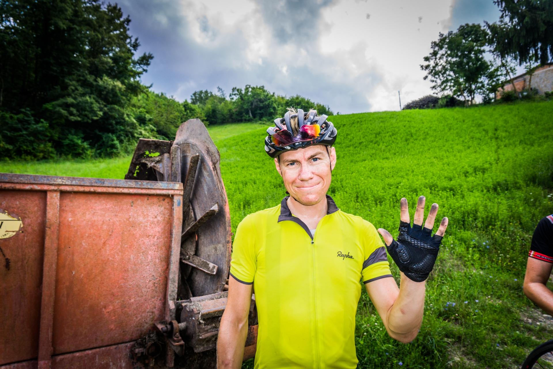 Henrik var ikke den personen som brydde seg mest om renhold og vedlikehold av sykkelen.